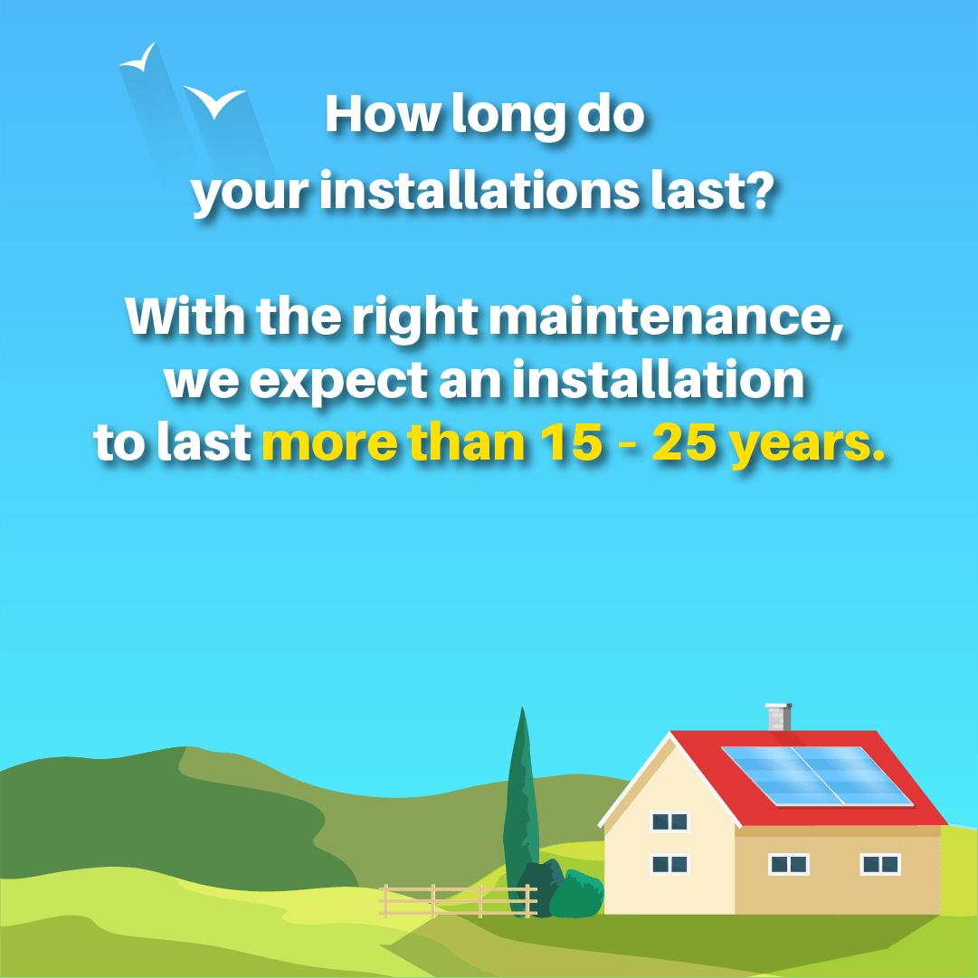 FAQ: Installation Lifespan